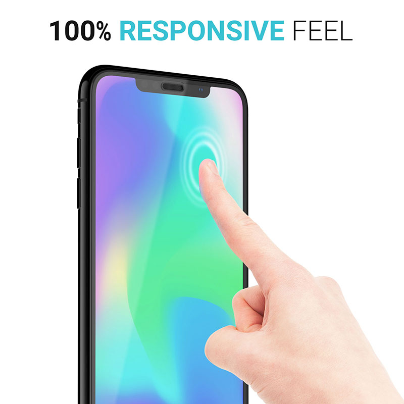huge discount 8e544 f2852 Details about Apple iPhone XS Max 6.5 Screen Protector Best Tempered Glass  Thin Protection